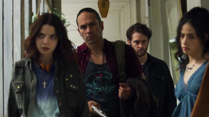 Nancy, Elvis, Ramiro and Keta go to battle in Diablero season 2