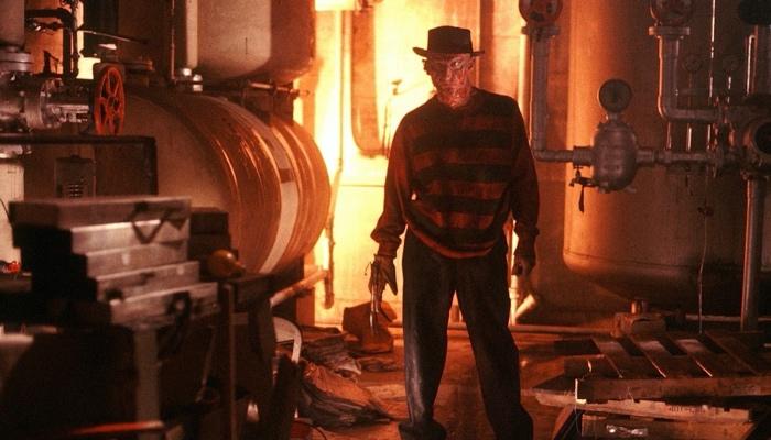 Freddy Krueger in the boiler room in A Nightmare on Elm Street 1984
