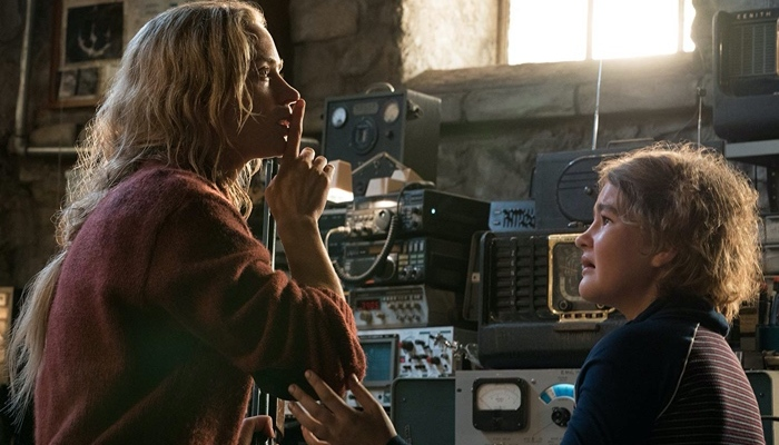 Evelyn and Regan in A Quiet Place 2018