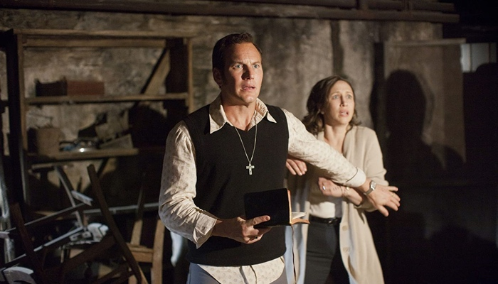 Ed and Lorraine Warren in The Conjuring 2013