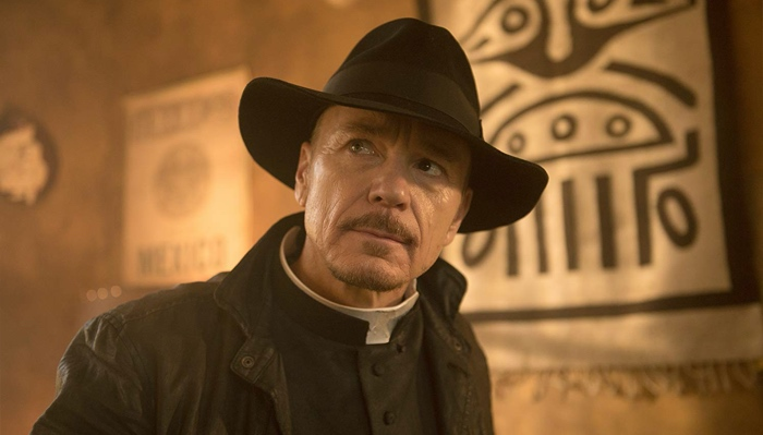 Father Marcus Keane in The Exorcist season 1