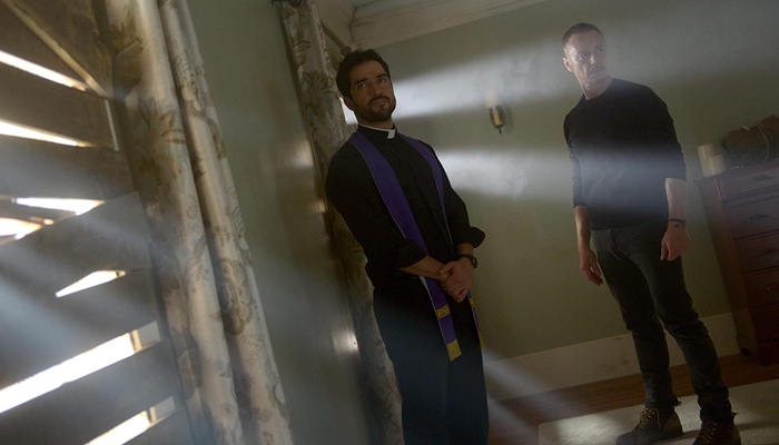 Father Tomas and Father Marcus in The Exorcist season 2
