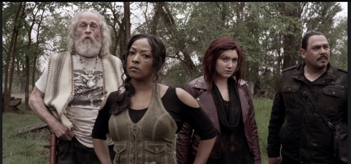 Doc, Warren, Addy and Hector in Z Nation season 3