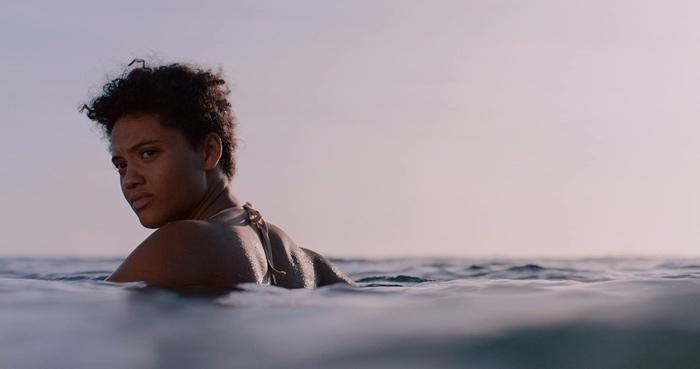 Jenn in the sea in Sweetheart 2019