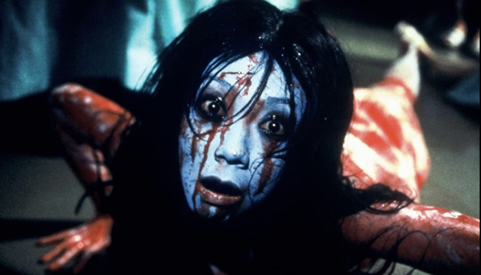 Kayako reborn in Jo-on The Grudge 2 (2003)