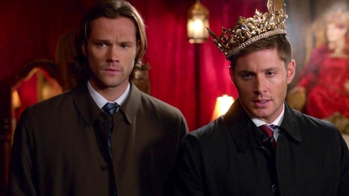 Sam and Dean in Moondor in Supernatural season 8