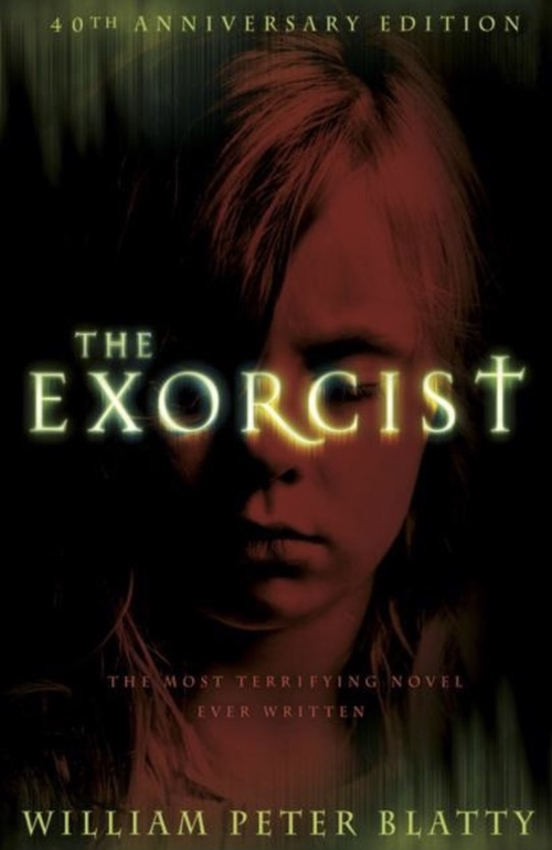 book cover The Exorcist by William Peter Blatty 1971