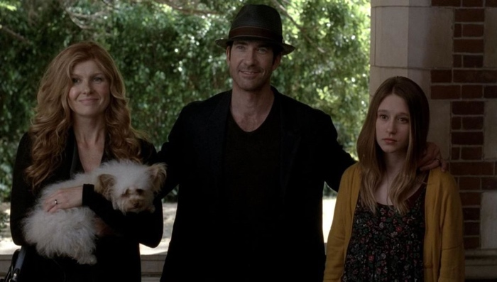 Vivian, Ben and Violet Harmon in American Horror Story season 1 Murder House