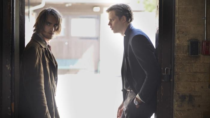 Peter and Roman in Hemlock Grove season 1