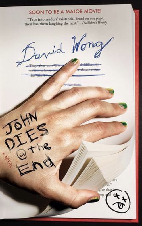 book cover John Dies at the End by David Wong 2007