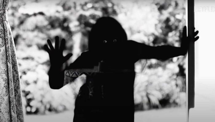 flashback vengeful spirit behind window in Ju-on: Origins season 1