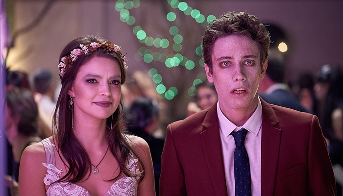 Charley and Ben at the prom in My Dead Ex season 1