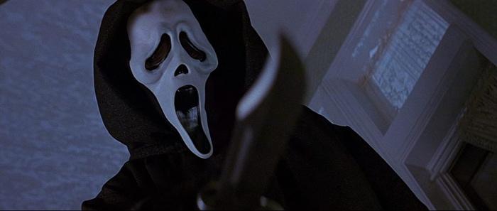 The Ghostface Killer in Scream 1996