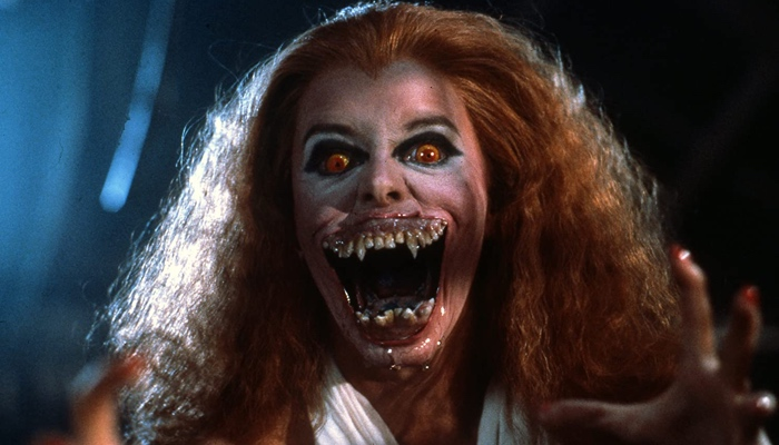 Amy as a vampire in Fright Night 1985
