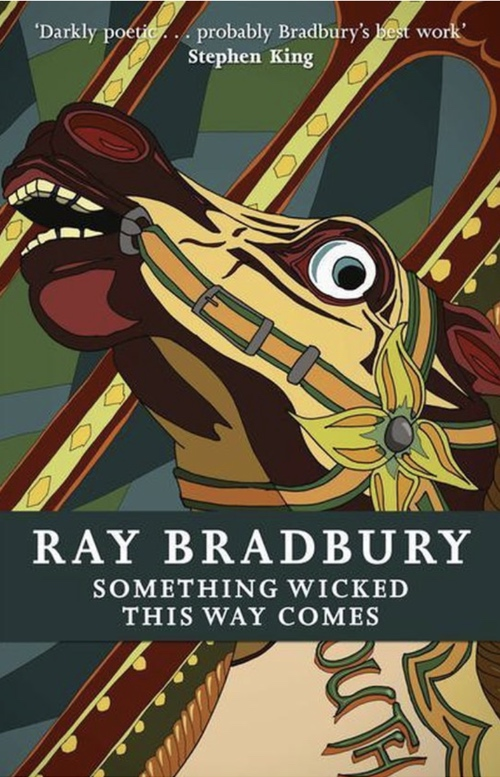 book cover Something Wicked This Way Comes by Ray Bradbury 1962