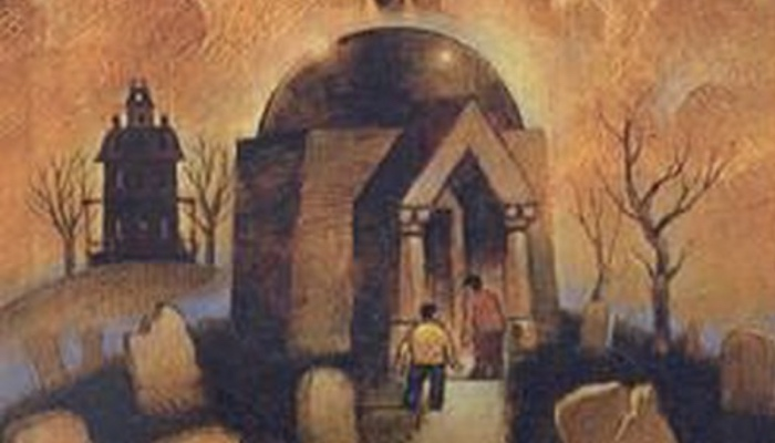 book cover The House With a Clock in Its Walls by John Bellairs 1973)
