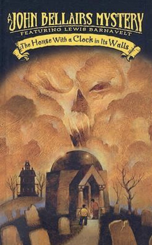 book cover The House With a Clock in Its Walls by John Bellairs 1973