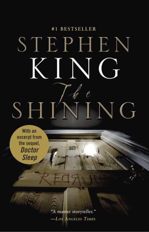 book cover The Shining by Stephen King 1977