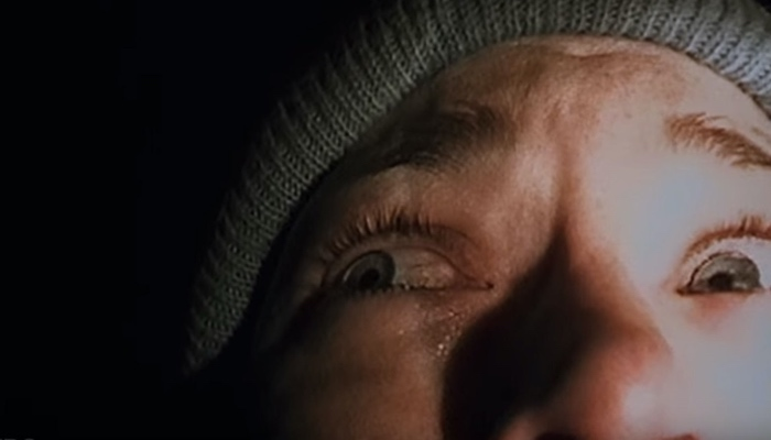 Heather close up in The Blair Witch Project 1999