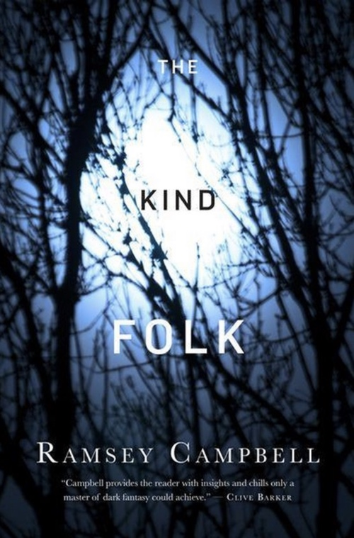 book cover The Kind Folk by Ramsey Campbell 2012