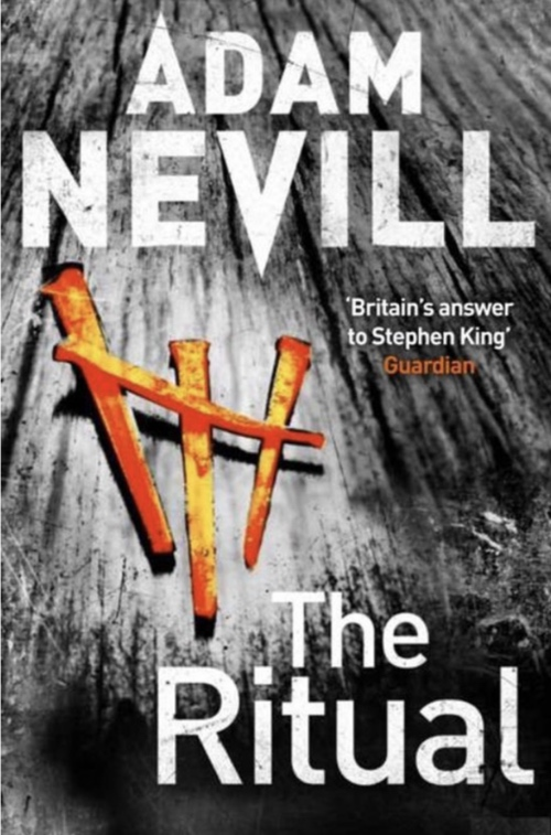 book cover The Ritual by Adam Nevill 2