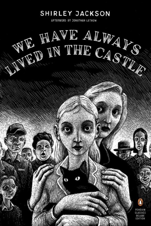 book cover We Have Always Lived in the Castle by Shirley jackson 1962