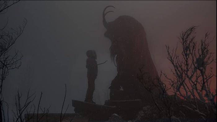 Max and Krampus in Krampus 2015