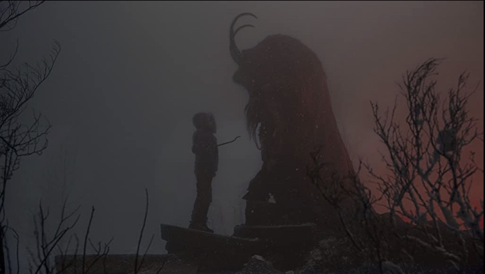 Max and Krampus in Krampus 2015