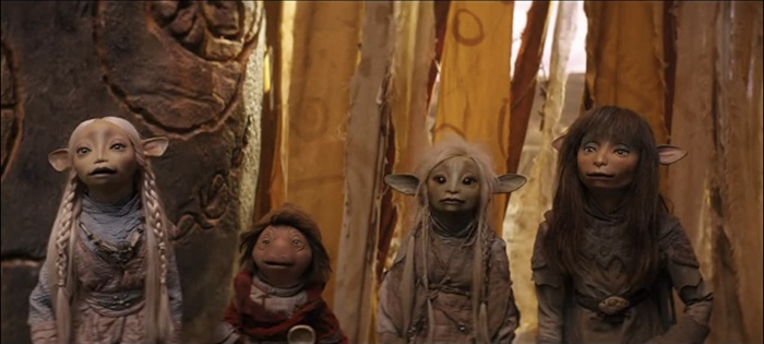 Brea Hup Deet and Rian in The Dark Crystal Age of Resistance season 1